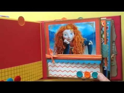 SCRAPBOOK album Toy Story and Brave
