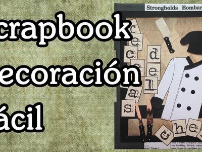 Scrapbook : decoración mini album recetario