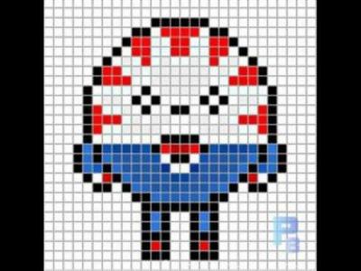 Sr menta (dulce)  hora de aventuras hama beads 2#