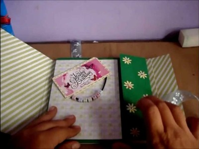 Tutorial mini album Scrapbook