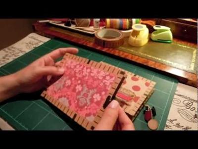 Tutorial: Miniálbum con 7 bolsillos (tercera parte)