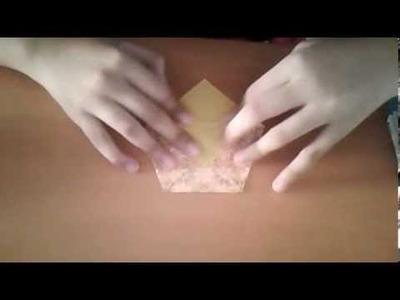 Bolsa de origami