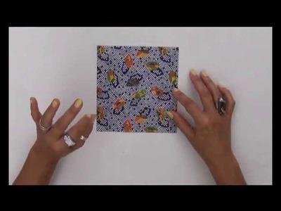 Clase 1 - Origami - la grulla