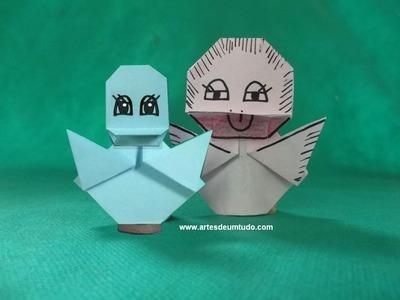 Como Fazer Origami #15 de Patinho