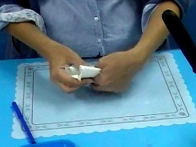 Conos de papel para glasa o icing. Parchment paper