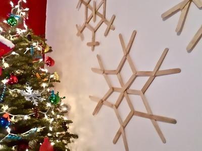 Deco para el hogar; copos de nieve. Home decor; snowflakes