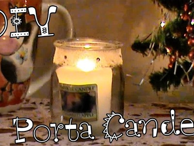 DIY Home Decor Christmas Portacandele  - candle holders | TeneraLoca XMAS