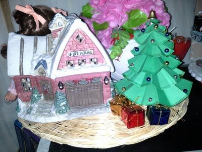 DIY mini arbolito de navidad