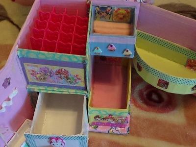 DIY: Organizador de accesorios y cosmeticos, Kawaii.