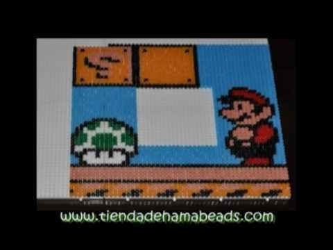 Espejo Super Mario Bros 3 Hama Beads