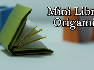 Mini Libro Origami - Mini Book Origami TUTORIAL