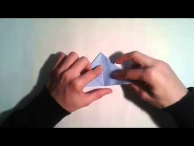 Origami   How to make a easy origami cube 3D    [Origami - Papiroflexia]