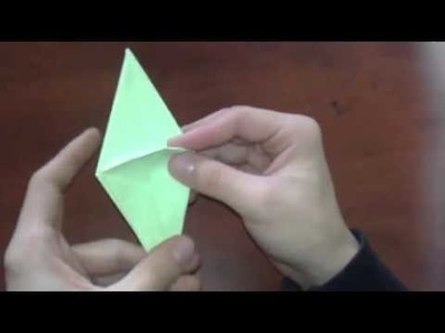 Origami   How to make a origami frog inflatable    [Origami - Papiroflexia]