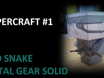 PaperCraft #1 Old Snake Metal Gear Solid