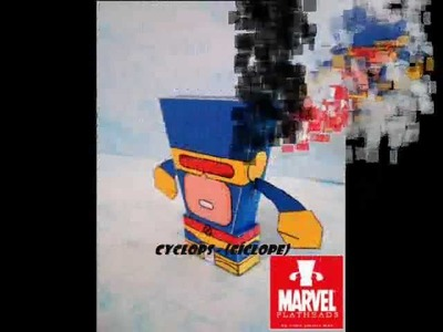 Papercraft super Heroes.wmv