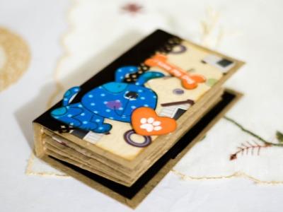 Tutorial scrapbook: como hacer un minialbum con bolsas de papel y tags reciclando parte 2.2 DIY