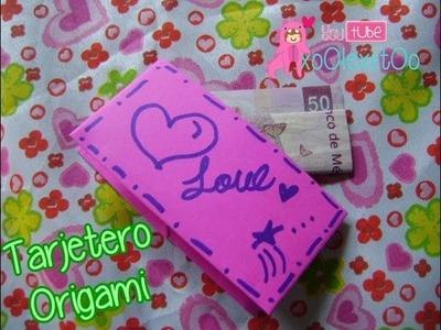 @xoOlexiitOo ❥DIY: Tarjetero || Origami ||Cartera ❤