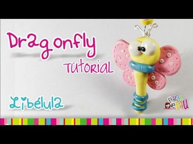 Butterfly Polymer Clay tutorial. Mariposilla de arcilla polimérica