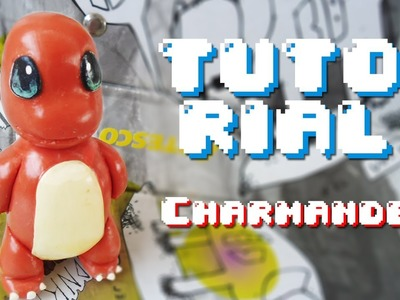 CHARMANDER Pokemón Polymer Clay Tutorial. Porcelana Fría