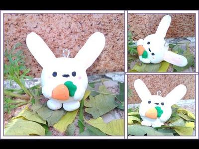 Conejo.Arcilla Polimerica, Bunny. Polymer clay