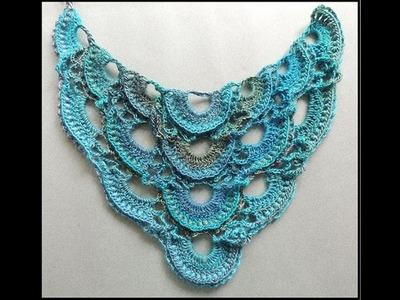 Crochet : Punto en Relieve #2 en V