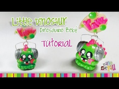 Dinosaur Polymer Clay tutorial. Dinosaurio de Arcilla Polimérica