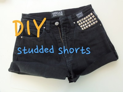 DIY ✄De pantalones rectos a shorts customizados