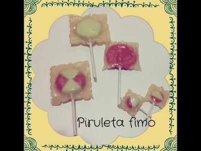 Diy Pirueta fimo.Wrapped Lollipop Polymer clay tutorial