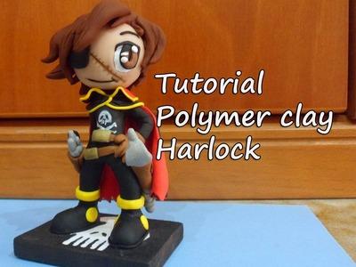 Harlock en fimo, Polymer clay