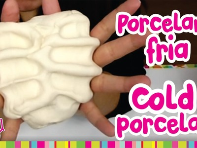 How to make COLD PORCELAIN. Como hacer PORCELANA FRIA (Resistente y Mejorada)
