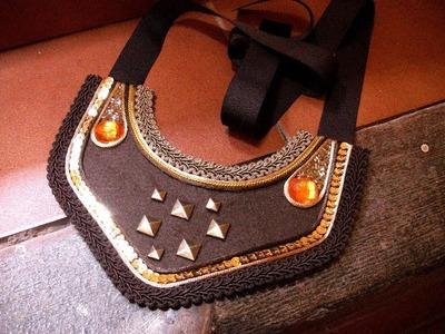 Manualidades DIY - Collar Babero