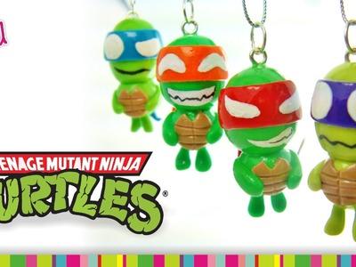 Ninja Turtles Polymer Clay Tutorial. Tortugas Ninja de Arcilla Polimérica