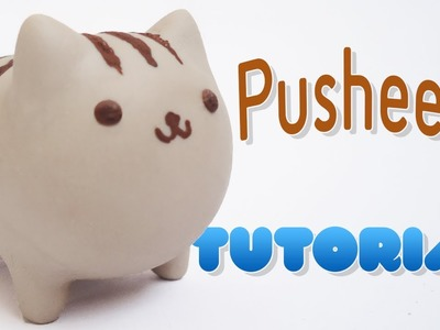 Pusheen Polymer Clay Tutorial | Pusheen Porcelana Fría. Plastilina