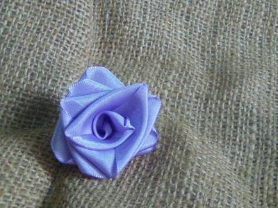 Rose of satin ribbon subtitle.rosa de cinta de raso o falletina subs. proyecto 61