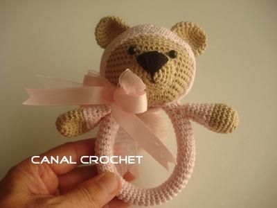 Sonajero osito  crochet tutorial