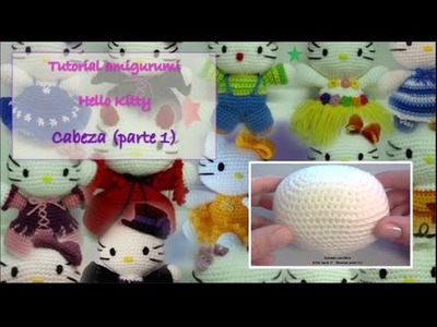 Tutorial amigurumi Hello Kitty - Cabeza 1.2