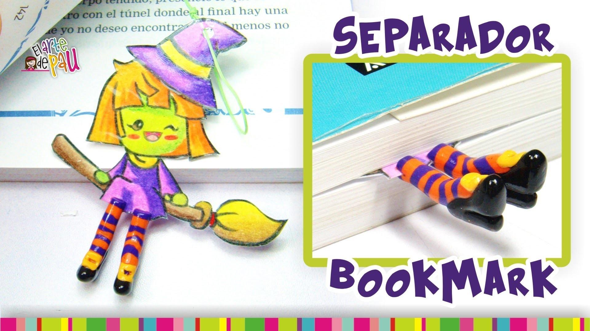 Witch BookMark Polymer Clay Tutorial. Separador de brujita de Arcilla Polimérica