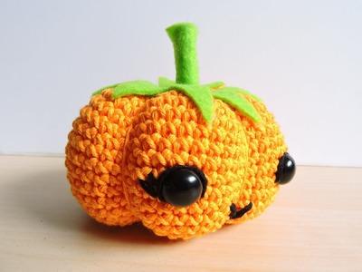 Calabaza de Halloween Amigurumi - Halloween Amigurumi Pumkin