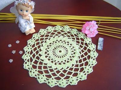 Como Aprender a tejer tapete Fácil, a crochet paso a paso DIY