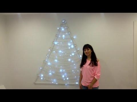 Cómo hacer un Árbol de Navidad original - DIY. Christmas Three