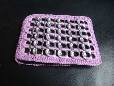 Como hacer una billetera con anillas parte 2 DIY Petición