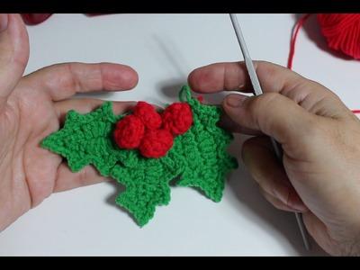 Decoración de Navidad I Muérdago a ganchillo I cucaditasdesaluta