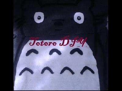 Disfraz de ultimo minuto Totoro - DIY Hazlo Tu Mismo
