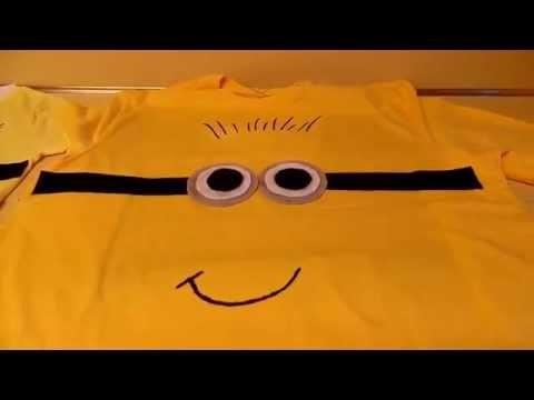 DIY camisas de Minions