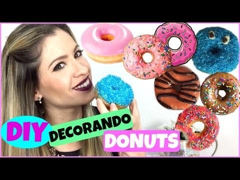 DIY | Decorando Donuts al Estilo Dunkin Donuts|NatyGloss