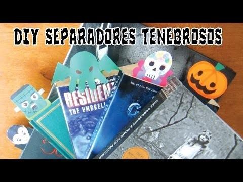DIY || Separadores para Halloween