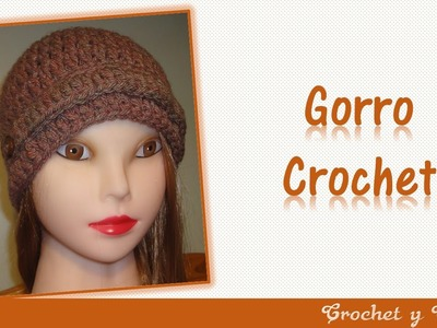 Gorro tejido a crochet para mujeres