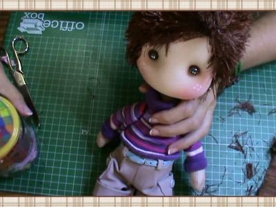 Tutorial: Pelo muñeco Pepito