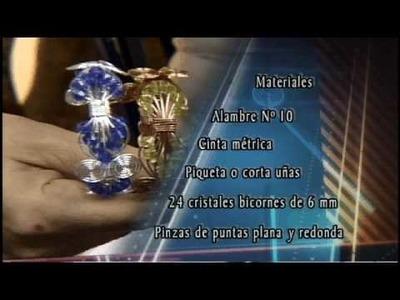Alambrismo - Elizabeth Orta - Porta llaves y Brazalete - 7 de 8