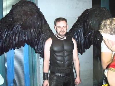 Alas Para Disfraz de Angel.wmv